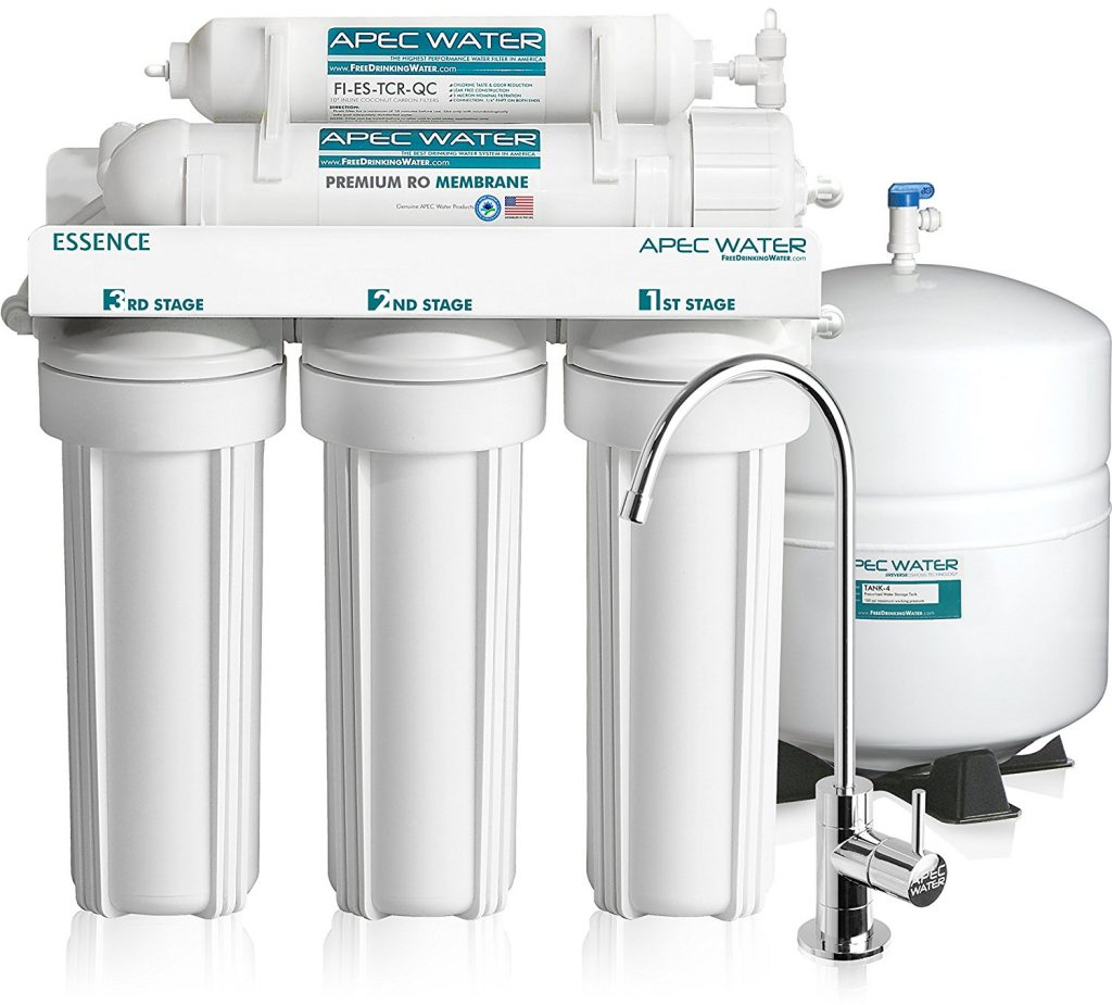 APEC Top Tier Reverse Osmosis Drinking Water Filter System Review