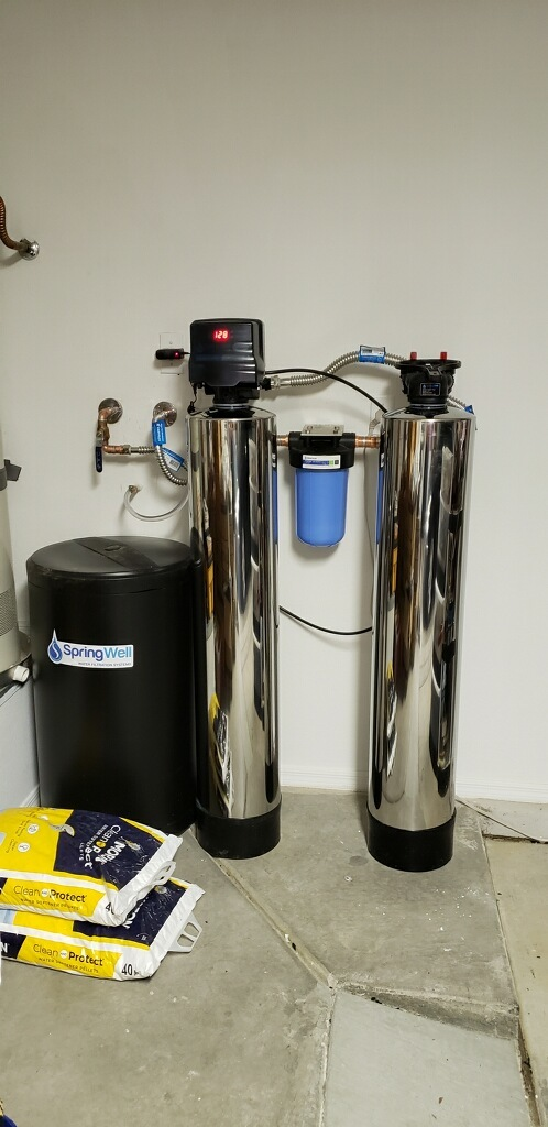 Springwell whole house water filter