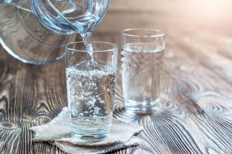 A Glass of purified Water