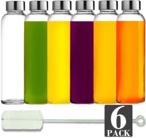 brieftons-glass-water-bottles