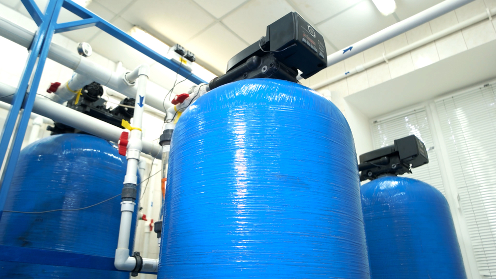 Commercial Water Filter Tanks
