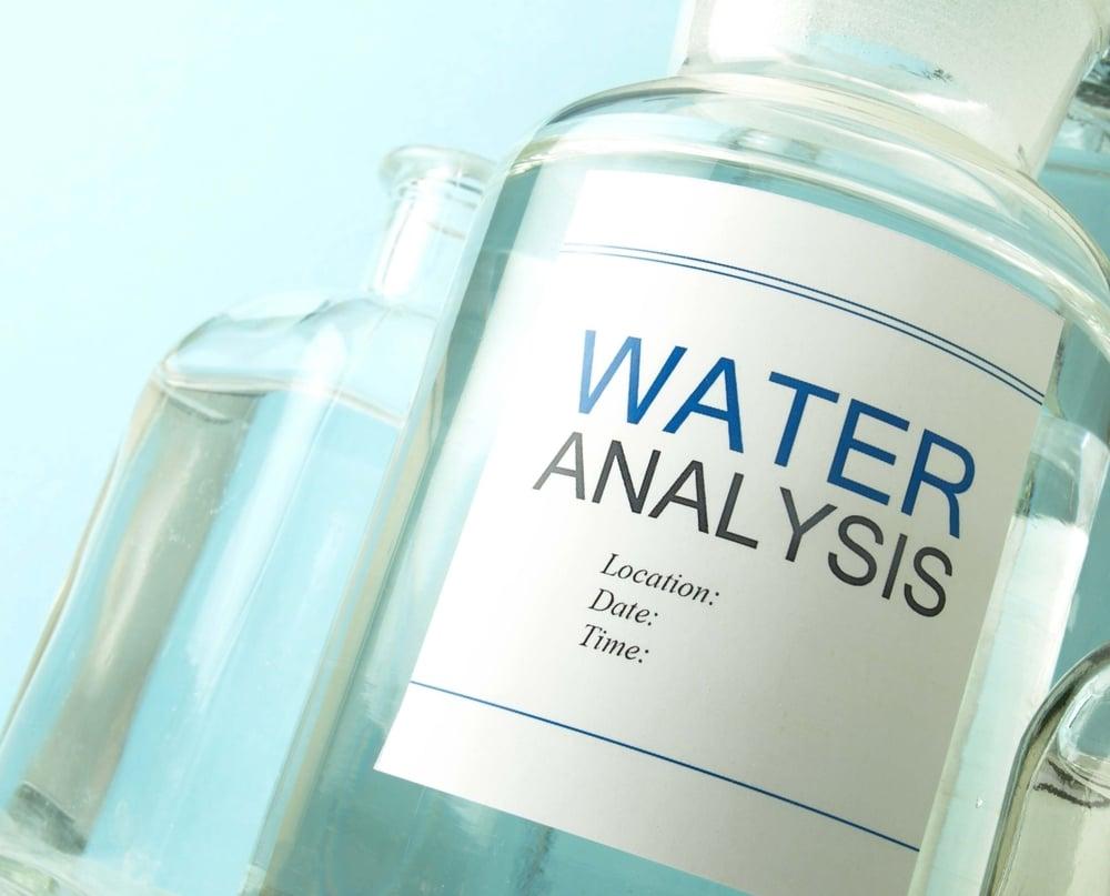 Water Testing Sample