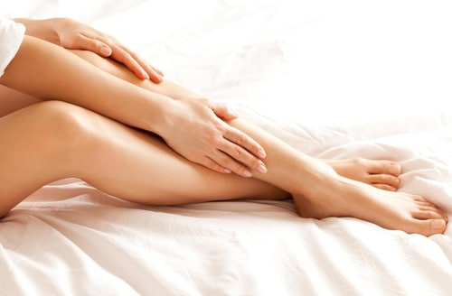 Soft skin is one of the water softener benefits